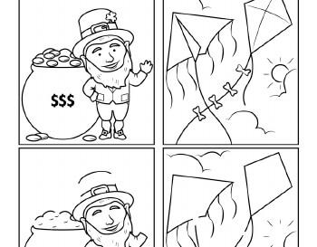 March: March Doodles worksheet