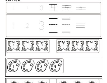 teach March: Counting by ones