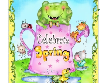 teach March: Spring Poster