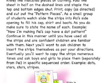 teach March: My Pattern Pal
