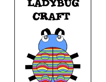 March: Ladybug Craft teaching resource