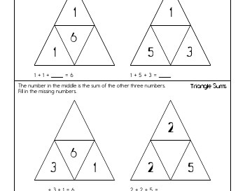 teach March: Triangle Sums