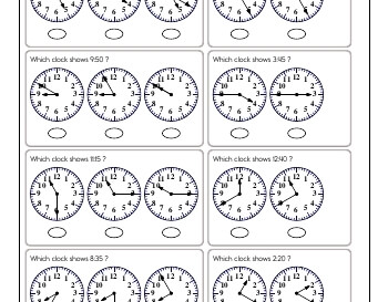 teach March: Clocks