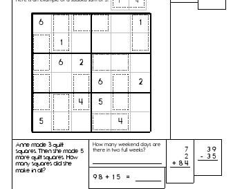 teach March: Sudoku Sums