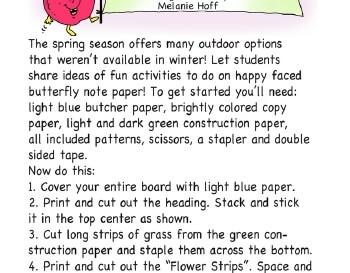 teach March: This Spring Bulletin Board
