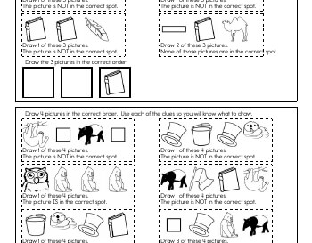 teach March: Critical Thinking: Draw the Sequence