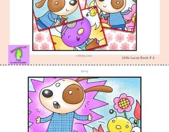 teach April: Spring - Little Lucas Book