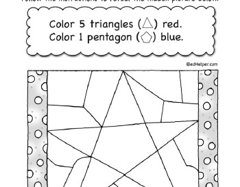 teach April: Hidden Shapes
