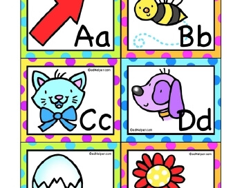 ABC Flashcards teaching resource