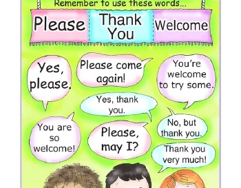 teach Plan To Be Polite Poster