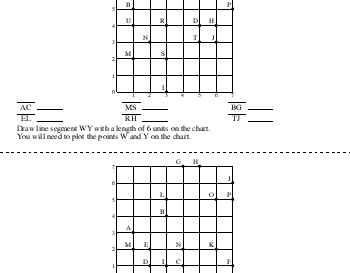 April: Measure and Draw Line Segments worksheet