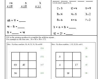 teach April: Math Practice
