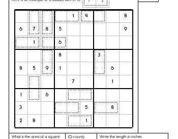 teach Sudoku Sums