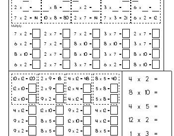 teach April: Multiply to Twelve