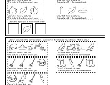 teach April: Critical Thinking: Draw the Sequence