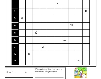 April: Multiplication Practice teaching resource