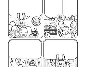 teach April: Writing: A Cartoon Story Line