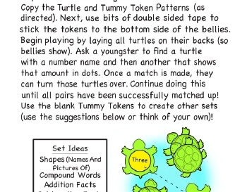 teach May/June: Turn Over Turtles