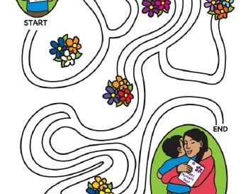 teach May/June: Mother's Day Mazes