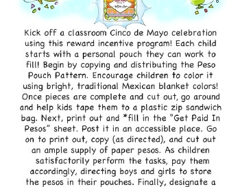 Paid In Pesos - Classroom Motivation teaching resource