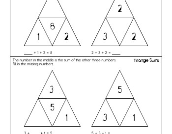 teach May/June: Triangle Sums
