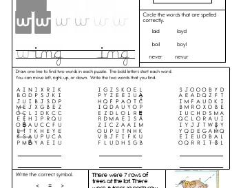 teach Writing Cursive Pages Random Letter