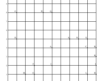 May/June: Find and Draw Line Segments worksheet