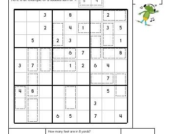 teach May/June: Sudoku Sums