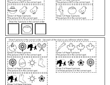 teach Critical Thinking: Draw the Sequence