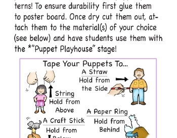 teach July/August: Play Puppets