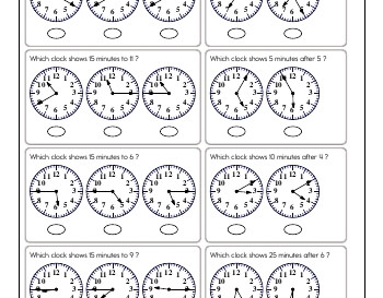 teach July/August: Clocks