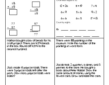 teach July/August: Math Practice