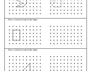 teach July/August: Drawing Clockwise Turns