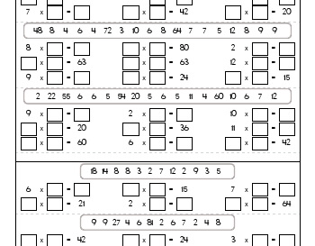 teach July/August: Missing Numbers