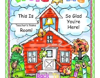 teach September: Welcome Back To School Poster