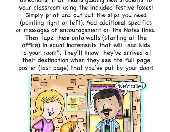 September: Direct Students to Your Classroom worksheet