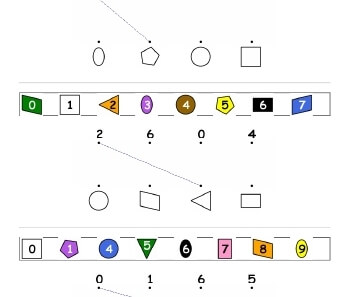 teach Matching Shapes and Numbers