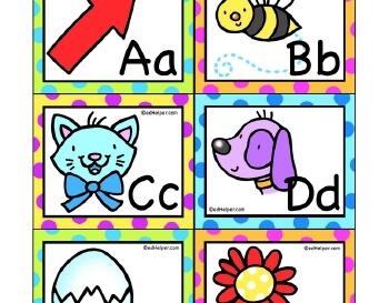 teach September: ABC Flashcards