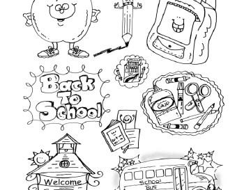 September Clipart and Forms worksheet