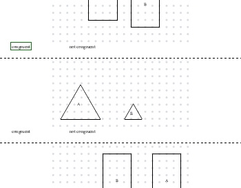 Congruent or Not Congruent teaching resource