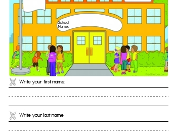 teach Back to School Book