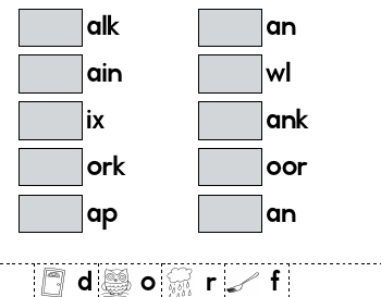 Complete the Words teaching resource