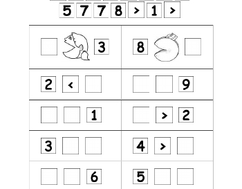 teach September: Comparing Numbers