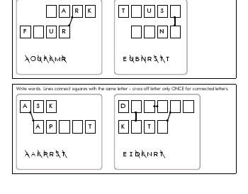 Word Connect - Spelling and Vocabulary Fun teaching resource