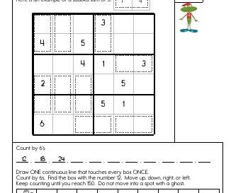 Sudoku Sums teaching resource