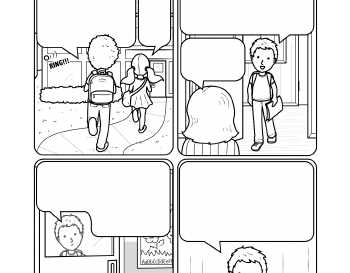 Writing: A Cartoon Story Line teaching resource