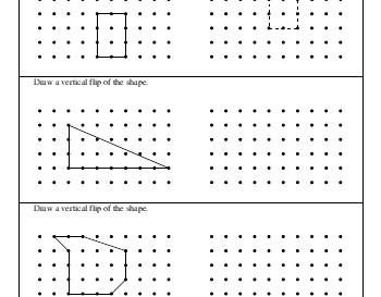 September: Drawing Vertical Flips worksheet
