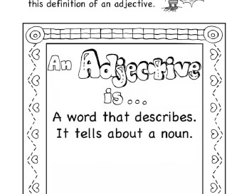 teach I Know Adjectives