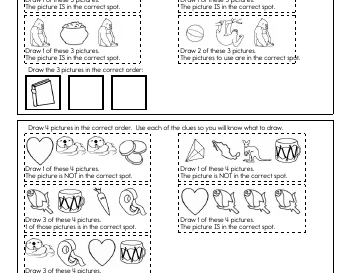 September: Critical Thinking: Draw the Sequence teaching resource