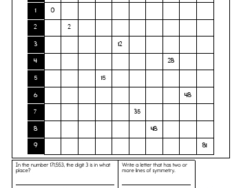 September: Multiplication Practice worksheet